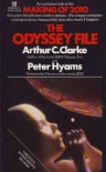The Odyssey File - Arthur C. Clarke, Peter Hymans