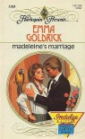 Madeleine's Marriage (Harlequin Presents, No 1208) - Emma Goldrick
