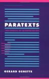 Paratexts: Thresholds of Interpretation - Gérard Genette
