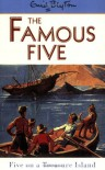 Five on a Treasure Island  - Enid Blyton, Eileen A. Soper