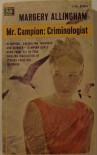 Mr. Campion:  Criminologist - Margery Allingham