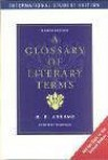 A Glossary of Literary Terms - M.H. Abrams