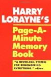 Page-a-Minute Memory Book - Harry Lorayne