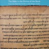 The Bible in the Shrine of the Book: From the Dead Sea Scrolls to the Aleppo Codex - Adolfo Roitman