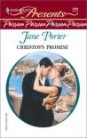 Christos's Promise - Jane Porter