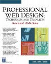Professional Web Design: Techniques and Templates (Charles River Media Internet) - Clint Eccher;Eric Hunley;Erik Simmons