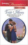 Bartering Her Innocence (Harlequin LP Presents Series #3115) - Trish Morey