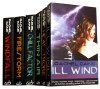 Weather Warden Series 6 Books Collection Set 1-6 (Weather Warden) (Rachel Caine Collection) (hill Factor, Windfall, Ill Wind, Heat Stroke, Firestorm, Thin Air) - Rachel Caine