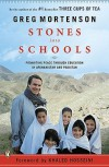 Stones into Schools: Promoting Peace with Education in Afghanistan and Pakistan - Khaled Hosseini, Greg Mortenson