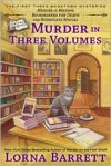 Murder in Three Volumes - Lorna Barrett