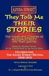 They Told Me Their Stories - J. Edward Morris, Cindy McCowan, Tom Welchel