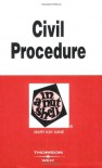 Civil Procedure in a Nutshell (Nutshell Series) - Mary Kay Kane