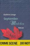 Septembermädchen - Kathrin Lange