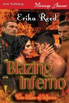 Blazing Inferno [The Men of Inferno] (Siren Publishing Menage Amour) - Erika Reed