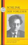 Der Vorleser - Bernhard Schlink, Stuart Taberner