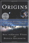 Origins: Fourteen Billion Years of Cosmic Evolution - Neil deGrasse Tyson, Donald Goldsmith