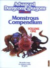 Monstrous Compendium: Volume One - David Zeb Cook