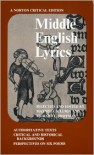 Middle English Lyrics - Maxwell S. Luria