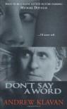 Don't Say A Word - Andrew Klavan