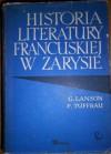 Historia literatury francuskiej w zarysie - Gustave Lanson, Paul Tuffrau
