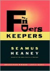 Finders Keepers: Selected Prose 1971-2001 - Seamus Heaney