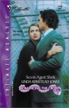 Secret-Agent Sheik (Romancing The Crown) (Silhouette Intimate Moments, No. 1142) - Linda Winstead Jones