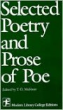 Selected Poetry and Prose of Poe - Edgar Allan Poe,  Thomas O. Mabbott (Editor)