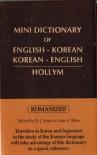 Mini Dictionary of English-Korean, Korean-English: Romanized - B.J. Jones