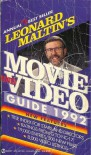 Leonard Maltin's Movie and Video Guide 1992 - Leonard Maltin