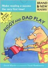 Piggy and Dad Play: 4 Brand New Readers: Sledding/ Play Ball!/ Water Balloons/ Lemonade for Sale - David Martin, Frank Remkiewicz