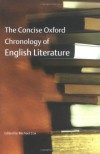 The Concise Oxford Chronology of English Literature - Michael Cox