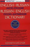 English-Russian, Russian-English Dictionary - Kenneth Katzner