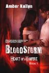 Bloodstorm (Heart of a Vampire, #1) - Amber Kallyn