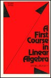 First Course In Linear Algebra - Daniel Zelinsky