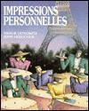 Impressions Personnelles - Natalie Lefkowitz