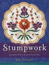 Stumpwork & Goldwork Embroidery Inspired by Turkish, Syrian & Persian Tiles - Jane Nicholas