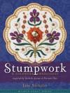 Stumpwork & Goldwork Embroidery Inspired by Turkish, Syrian & Persian Tiles - Jane Nicholas
