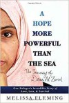 A Hope More Powerful Than the Sea: One Refugee's Incredible Story of Love, Loss, and Survival - Melissa Fleming