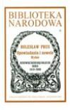 Opowiadania i nowele - Bolesław Prus