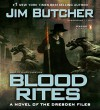 Blood Rites  - Jim Butcher, James Marsters