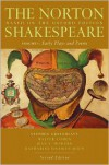 The Norton Shakespeare, Based on the Oxford Edition: Volume 1: Early Plays and Poems (Norton Shakespeare) - William Shakespeare