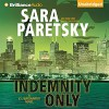 Indemnity Only - Sara Paretsky, Susan Ericksen