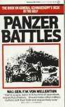 Panzer Battles : A Study of the Employment of Armor in the Second World War - F. W. von Mellenthin