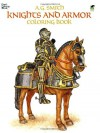Knights and Armor Coloring Book - A.G. Smith