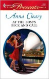 At the Boss's Beck and Call - Anna Cleary