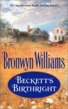 Beckett's Birthright - Bronwyn Williams