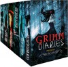 The Grimm Diaries Prequels Volume 1- 6: Snow White Blood Red, Ashes to Ashes & Cinder to Cinder, Beauty Never Dies, Ladle Rat Rotten Hut, Mary Mary Quite Contrary, Blood Apples - Cameron Jace,  Danielle Littig