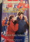 What She Wants for Christmas (Harlequin Superromance No. 720) - Janice Kay Johnson