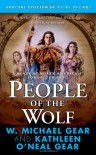 People of the Wolf (The First North Americans) - 'Kathleen O'Neal Gear',  'W. Michael Gear'