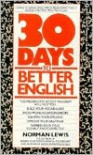 Thirty Days to Better English - Norman Lewis,  N. Lewis